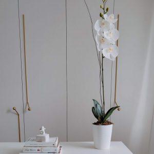 Orquídea artificial-Flores ohana
